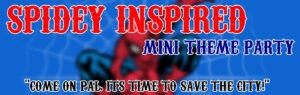 Mini Spiderman Inspired Theme Party