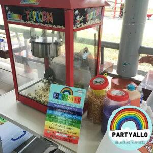 PartyAllo Event Management Popcorn