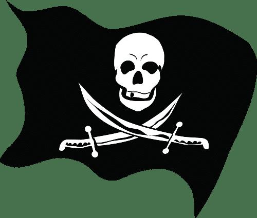 PartyAllo Mini Birthday Theme Pirates