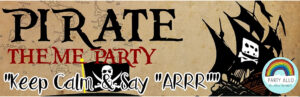 Pirates Inspired Theme Party Package