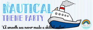 Nautical Inspired Theme Party Package