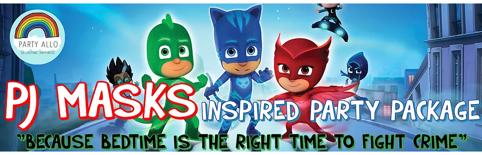 PJ Mask Inspired Theme Party Package