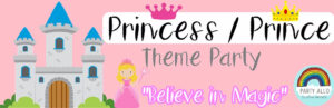 Princess Inspired Theme Party Package