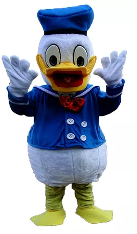 Donal Duck Mascot Rental Singapore