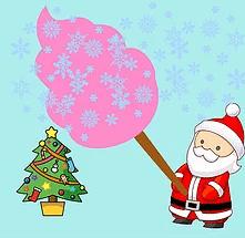 Santa Candy Floss