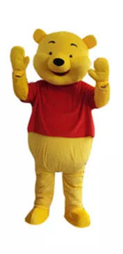 Winnie the Pooh Mascot Rental Singapore