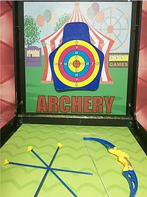 PartyAllo Carnival Game Booth Rental Singapore Archery