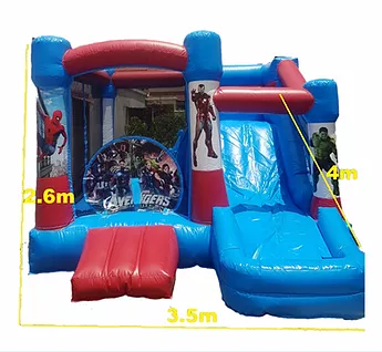 PartyAllo Inflatable Carnival Game Rental Singapore avengers bouncy
