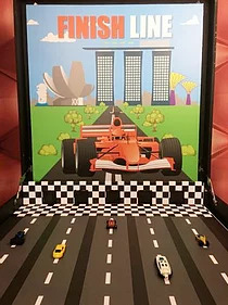PartyAllo Carnival Game Booth Rental Singapore Finish Line