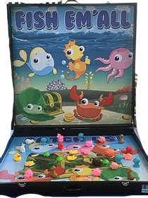 PartyAllo Carnival Game Booth Rental Singapore Fish them All