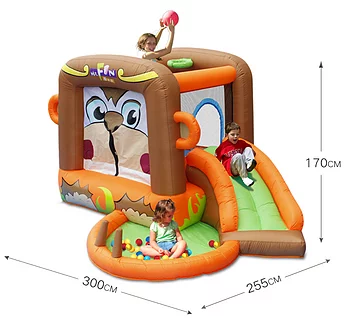 PartyAllo Inflatable Carnival Game Rental Singapore monkey bouncy