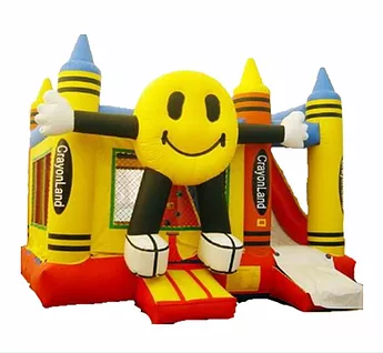PartyAllo Inflatable Carnival Game Rental Singapore smiley bouncy