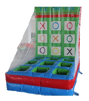 PartyAllo Inflatable Carnival Game Rental Singapore tic tac toe